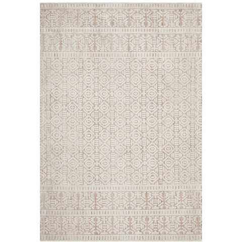Nara 131 Peach Transitional Textured Rug - Rugs Of Beauty - 1