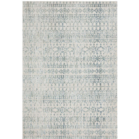 Nara 133 Blue Transitional Textured Rug - Rugs Of Beauty - 1