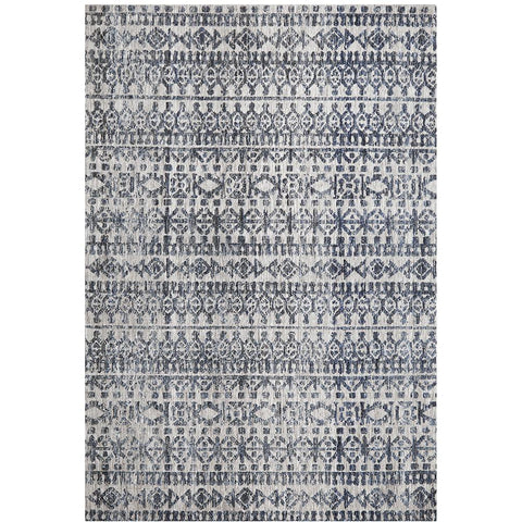 Nara 133 Charcoal Grey Transitional Textured Rug - Rugs Of Beauty - 1