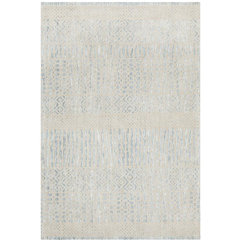 Nara 135 Blue Transitional Textured Rug - Rugs Of Beauty - 1