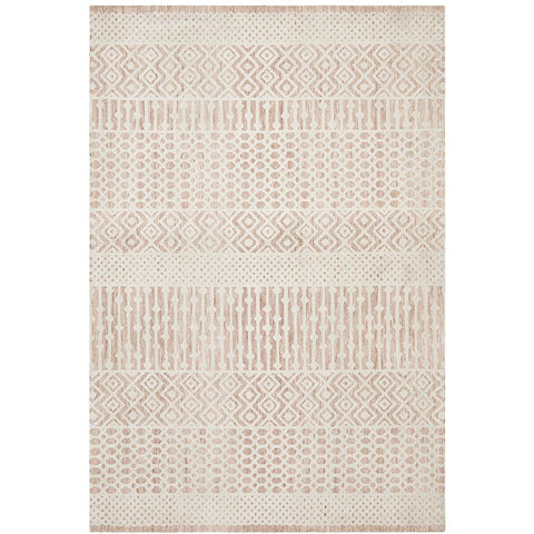Nara 135 Peach Transitional Textured Rug - Rugs Of Beauty - 1