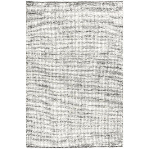 Seljord Black Modern Scandi Wool Rug - Rugs Of Beauty - 1