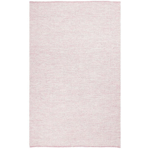 Seljord Pink Modern Scandi Wool Rug - Rugs Of Beauty - 1