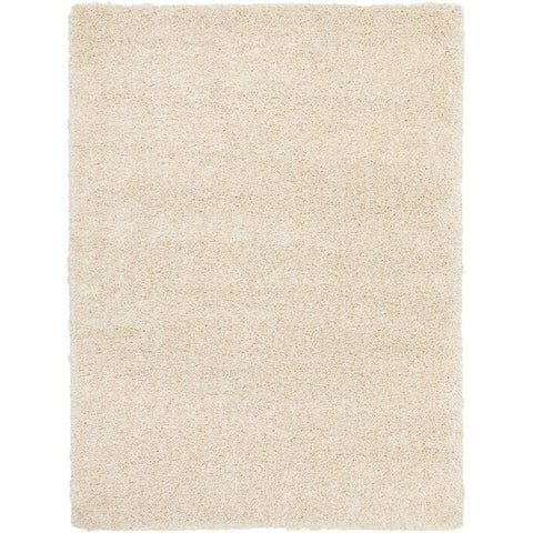 Sevan 4477 Cream Modern Shaggy Rug - Rugs Of Beauty - 1