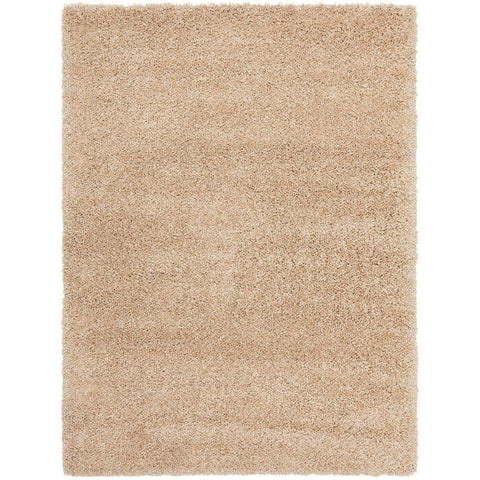 Sevan 4479 Linen Modern Shaggy Rug - Rugs Of Beauty - 1