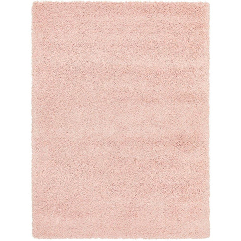 Sevan 4480 Pink Modern Shaggy Rug - Rugs Of Beauty - 1