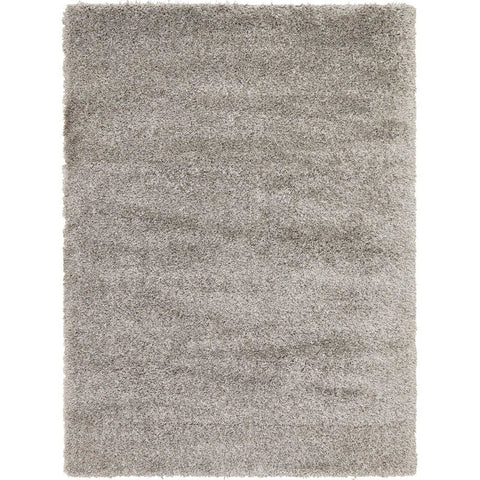 Sevan 4482 Silver Grey Modern Shaggy Rug - Rugs Of Beauty - 1