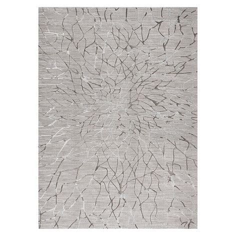 Trent 345 Grey Modern Patterned Rug - Rugs Of Beauty - 1
