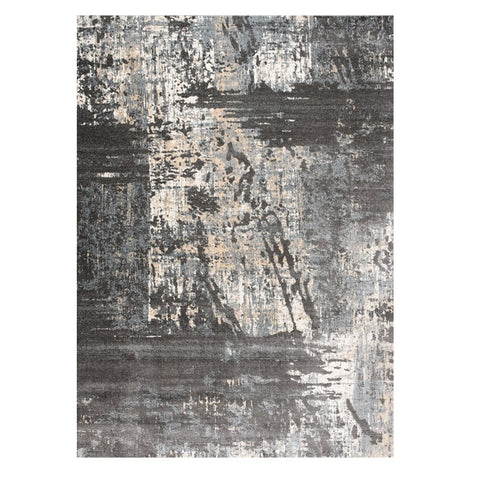 Trent 346 Grey Modern Patterned Rug - Rugs Of Beauty - 1