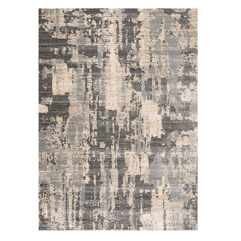 Trent 347 Grey Beige Modern Patterned Rug - Rugs Of Beauty - 1