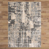 Trent 347 Grey Beige Modern Patterned Rug - Rugs Of Beauty - 3