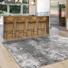 Trent 351 Grey Modern Patterned Rug - Rugs Of Beauty - 2