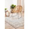 Bergen 1431 Peach Grey Transitional Medallion Patterned Rug - Rugs Of Beauty - 3