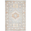 Bergen 1431 Peach Grey Transitional Medallion Patterned Rug - Rugs Of Beauty - 1