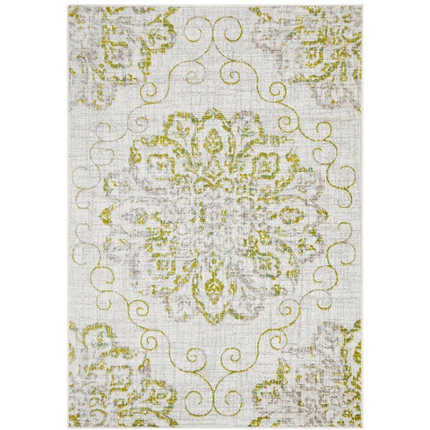 Dellinger 239 Green Blue Grey Beige Transitional Rug - Rugs Of Beauty - 1