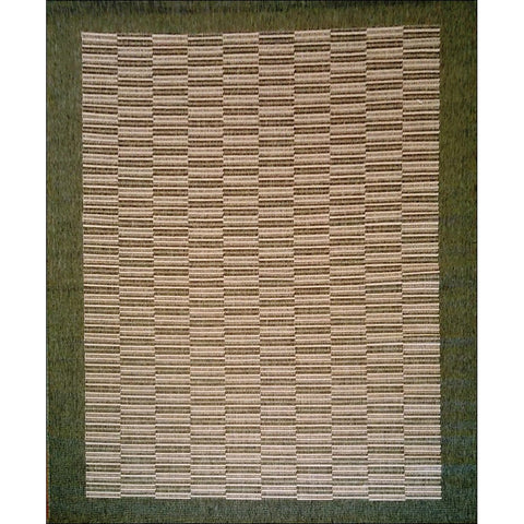 Florence Raffles Patterned Rug - Green Border - Rugs Of Beauty