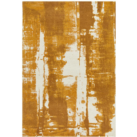 Asgard 175 Mustard Modern Abstract Rug - Rugs Of Beauty - 1