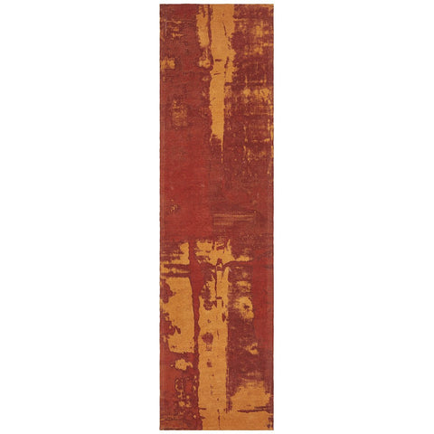 Asgard 175 Paprika Modern Abstract Runner Rug - Rugs Of Beauty - 1