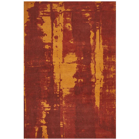 Asgard 175 Paprika Modern Abstract Rug - Rugs Of Beauty - 1