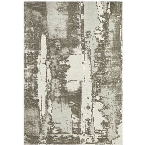 Asgard 175 Silver Grey Modern Abstract Rug - Rugs Of Beauty - 1