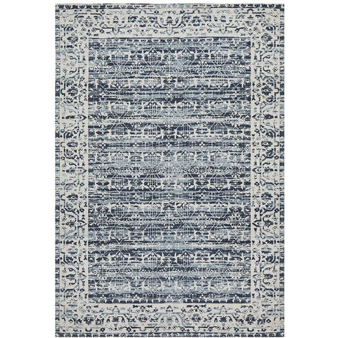 Asgard 176 Denim Blue Transitional Rug - Rugs Of Beauty - 1