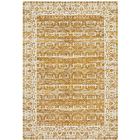 Asgard 176 Mustard Transitional Rug - Rugs Of Beauty - 1
