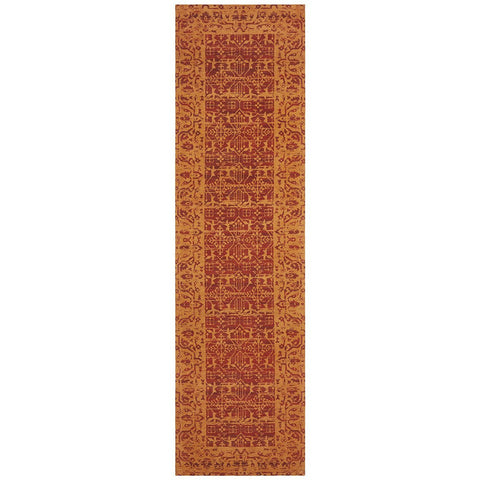 Asgard 176 Paprika Transitional Runner Rug - Rugs Of Beauty - 1