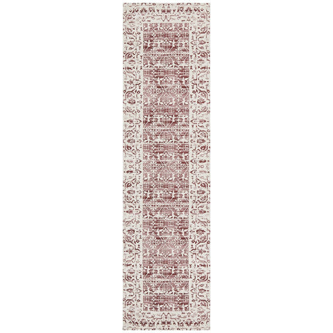 Asgard 176 Rose Transitional Runner Rug - Rugs Of Beauty - 1
