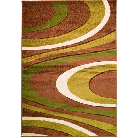 Orleans Rug - Honesty - Brown/Green - Rugs Of Beauty