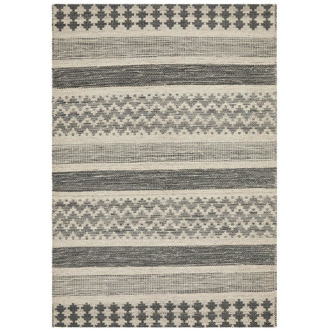 Quivira 470 Grey Patterned Modern Rug - Rugs Of Beauty - 1