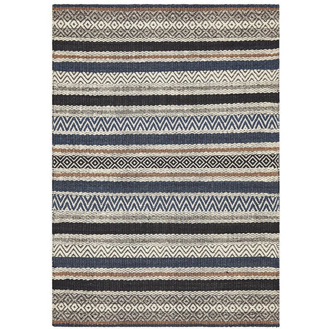 Quivira 472 Multi Coloured Patterned Modern Rug - Rugs Of Beauty - 1