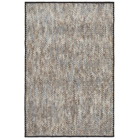 Quivira 474 Multi Coloured Zig Zag Patterned Modern Rug - Rugs Of Beauty - 1
