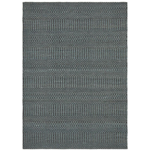 Quivira 475 Blue Abstract Patterned Modern Rug - Rugs Of Beauty - 1