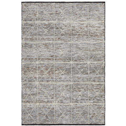 Quivira 477 Beige Cross Multi Coloured Patterned Modern Rug - Rugs Of Beauty - 1