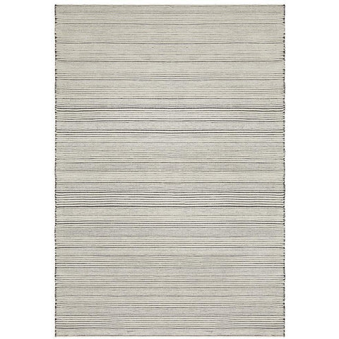 Quivira 478 Beige Stripe Patterned Modern Rug - Rugs Of Beauty - 1