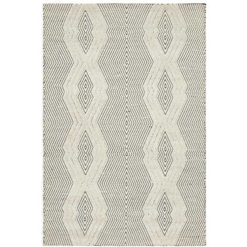 Quivira 481 Beige Grey Abstract Patterned Modern Rug - Rugs Of Beauty - 1