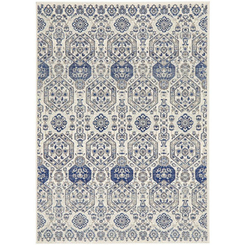 Manisa 750 Grey Patterned Transitional Designer Rug - Rugs Of Beauty - 1