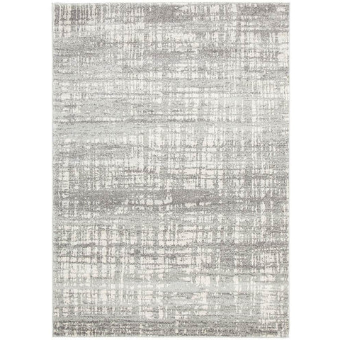 Manisa 754 Silver Grey Abstract Patterned Modern Designer Rug - Rugs Of Beauty - 1