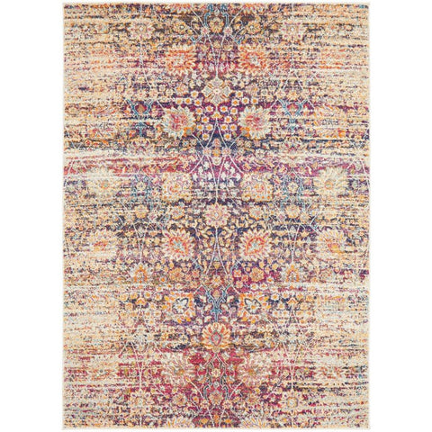 Manisa 760 Multi Patterned Transitional Designer Rug - Rugs Of Beauty - 1