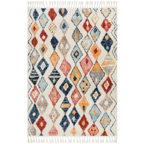 Ankara 3746 Multi Colour Modern Tribal Patterned Rug - Rugs Of Beauty - 1