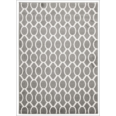 Indoor Outdoor Neo Rug Grey - Rugs Of Beauty