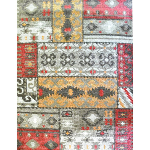 Brown & Beige Pattern Designer Rug - Rugs Of Beauty - 1