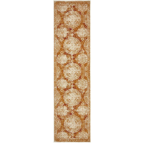 Adoni 152 Bohemian Rust Runner Rug - Rugs Of Beauty - 1