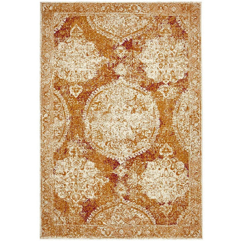 Adoni 152 Bohemian Rust Rug - Rugs Of Beauty - 1