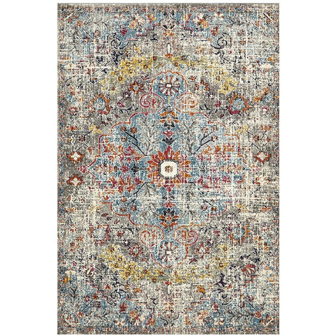 Adoni 153 Bohemian Multi Coloured Rug - Rugs Of Beauty - 1