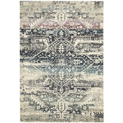 Adoni 155 Bohemian Blue Rug - Rugs Of Beauty - 1