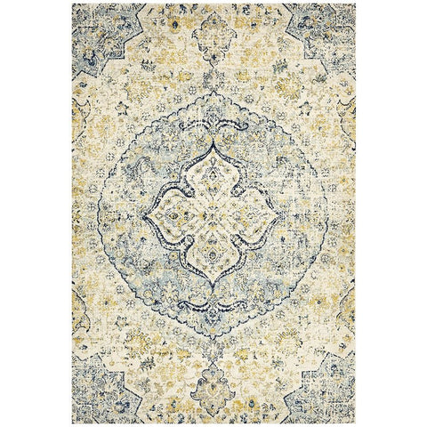 Adoni 157 Transitional Blue Beige Rug - Rugs Of Beauty - 1