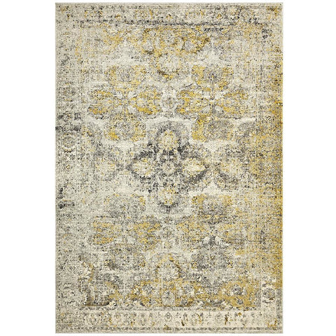 Adoni 158 Transitional Silver Grey Rug - Rugs Of Beauty - 1