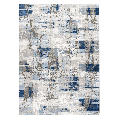 Lincoln 2722 Blue Modern Patterned Rug - Rugs Of Beauty - 1