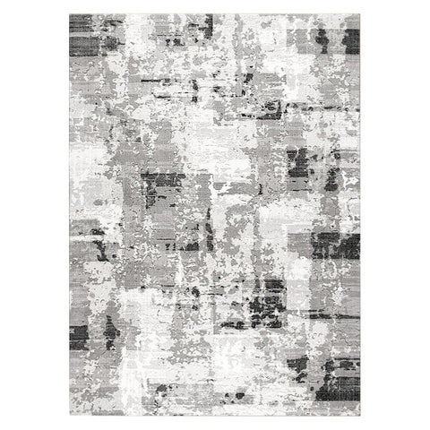 Lincoln 2722 Grey Modern Patterned Rug - Rugs Of Beauty - 1